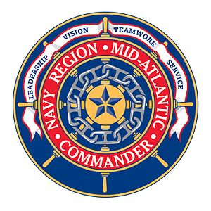 Navy Region Mid-Atlantic - Command insignia of CNRMA