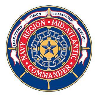 Navy Region Mid-Atlantic - Command insignia of CNRMA