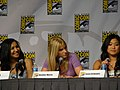 Naya Rivera, Heather Morris & Jenna Ushkowitz (4852823556).jpg