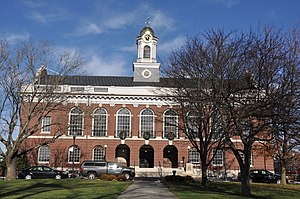 Needham, Massachusetts - Town Hall
