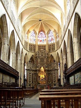 Toulouse Cathedral - Image: Nef de la cathédrale St Etienne