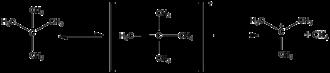 Magic acid - Image: Neopentane cations
