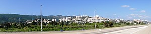 Nesher - Image: Nesher – Panoramic view 2 5.4.2010