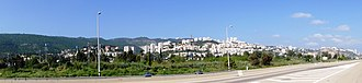 Nesher - Image: Nesher – Panoramic view 2 5.4.2010