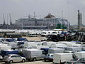New Ford motor vehicles awaiting distribution near the Cruise Liner Terminal, Southampton Western Docks - geograph.org.uk - 25242.jpg