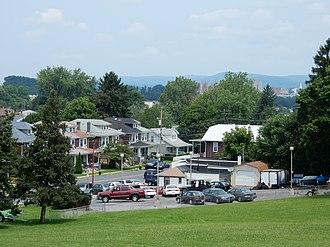 Kenhorst, Pennsylvania - New Holland Rd., Kenhorst.
