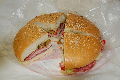 New Orleans Muffuletta - The best sandwich I ever had