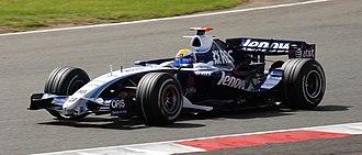 Nico Rosberg - Rosberg at the 2007 British Grand Prix