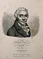 Nicolas Louis Vauquelin. Lithograph by J. Boilly, 1820. Wellcome V0006001EL.jpg