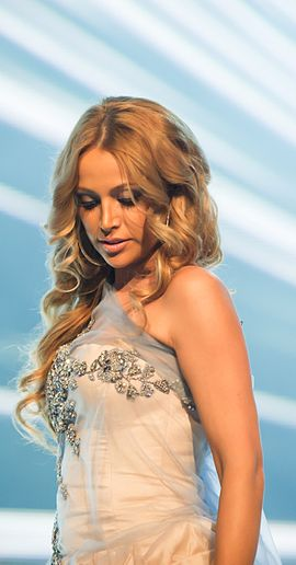 Nikki Jamal became one of the most successful pop artists of the 2010s. Nigar Camal 2012.jpg