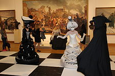 Night of Museums 2014 in National Art Museum of Belarus 04.JPG