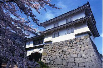Nihonmatsu Domain - Nihonmatsu castle, administrative center of Nihonmatsu Domain