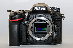 Nikon D7200 - Image: Nikon D7200 01 2016 img 2 body front