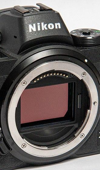 Nikon Z-mount - The full-frame sensor