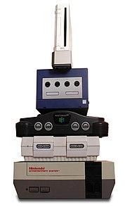 Nintendo video game consoles