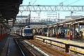 Nishiarai Station platforms - July 21 2015.jpg