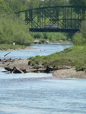 Image illustrative de l'article Nisqually (fleuve)