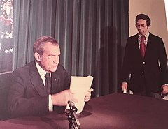 Nixon Resignation Speech 1974 with Alvin Snyder.jpg