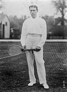 Norman Brookes Australian tennis player