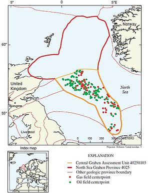 Geology of Norway - North Sea Central Graben