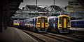 Northern 158904 and 158752 at Leeds, March 2017.jpg