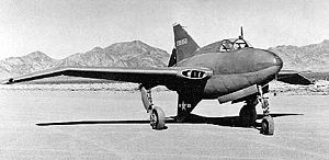 Northrop XP-56 Black Bullet - Northrop XP-56 Black Bullet, S/N 42-38353; second aircraft.