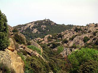 Ortobene - Image: Nuoro Il Monte Ortobene
