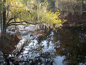 O'Leno State Park bridge Santa Fe River south02.jpg