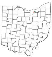 Location of Eaton Estates, Ohio