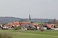 Oberscheinfeld, Panorama von Süden, 001.jpg