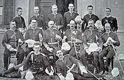 Officers of 1st Battalion Loyal North Lancs (c1899)