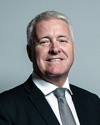 Labour Party Chair (2001) - Image: Official portrait of Ian Lavery crop 2