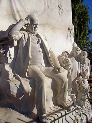 Émile Peynot - Monument to Domingo Sarmiento, Buenos Aires