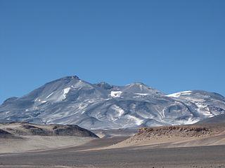 Ojos del Salado highest volcano in the world