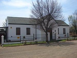 Reddersburg - Image: Old CNO school, Reddersburg