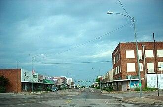 Olney, Texas - Downtown Olney.