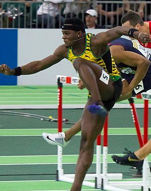 Omar McLeod - McLeod at the 2016 IAAF World Indoor Championships