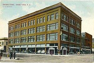 History of Grand Forks, North Dakota - The Ontario Store