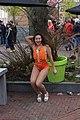 Ook een danseres koningsdag 2016 Spijkenisse.JPG