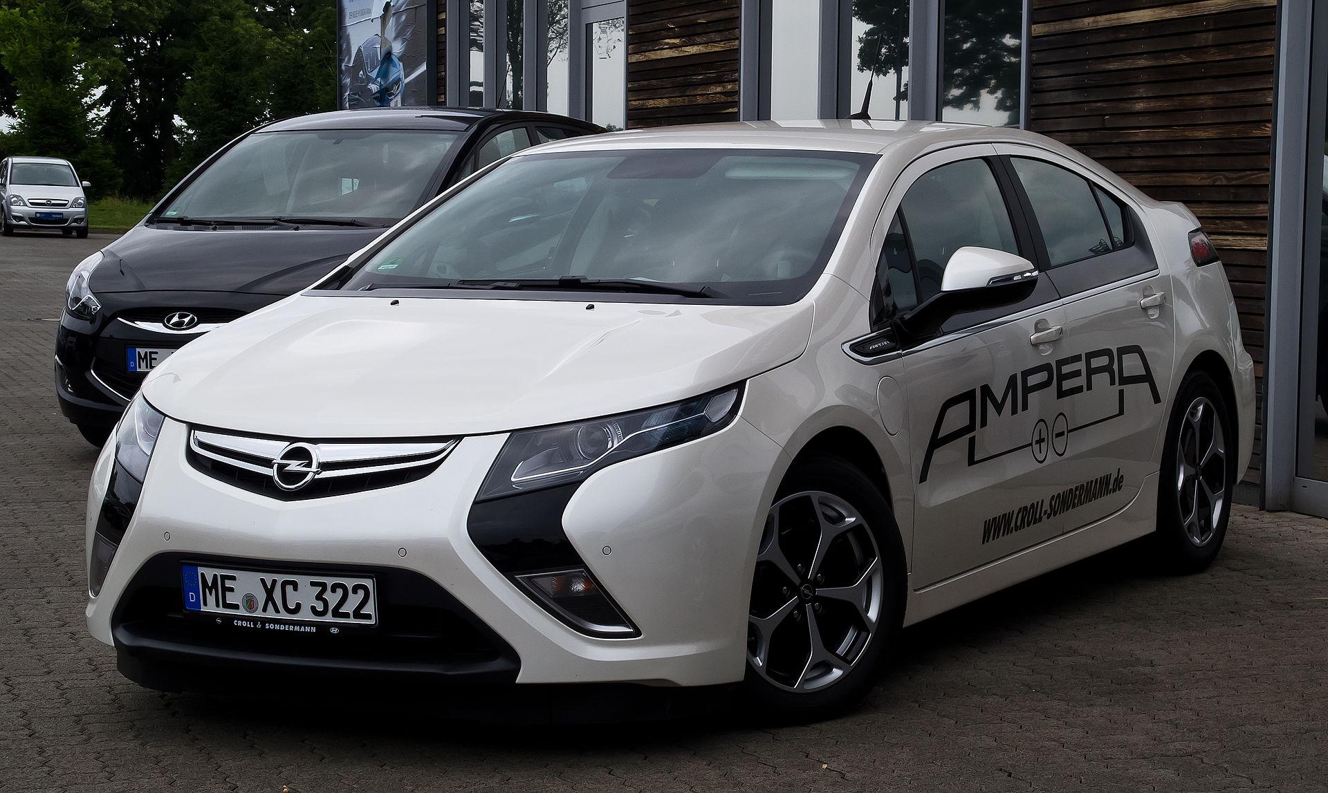 Px Opel Ampera Epionier Edition E Frontansicht C Juli C Heiligenhaus