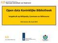 Open Data KB en Wikipedia 8juni2013 OlafJanssen.pdf