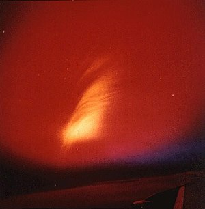 Operation Fishbowl - Image: Operation Dominic Starfish Prime nuclear test from plane