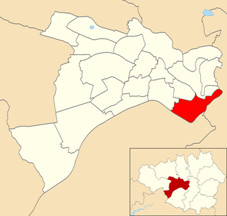 Ordsall (ward) - Ordsall ward within Salford City Council.