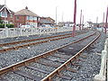 Orion Curve, Blackpool tramway, Cleveleys - DSC06644.JPG