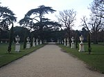Ornaments Lining Avenue to Rear of Chiswick House