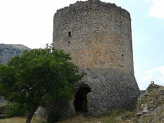 Ortona dei Marsi - Medieval tower of Ortona dei Marsi