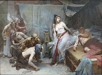 Delilah - Oscar Pereira da Silva's Sansão e Dalila (1893)