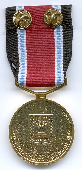 Fighters against Nazis Medal - The reverse of the medal