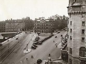 Confederation Square - Ottawa Post Office 1876-1938