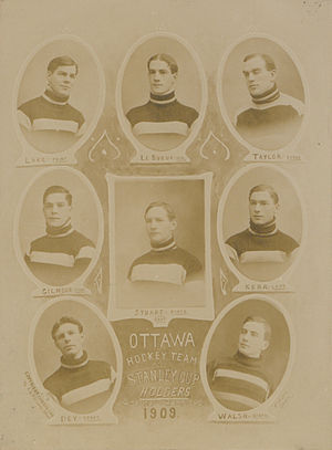 1909 ECHA season - Winning team, 1909